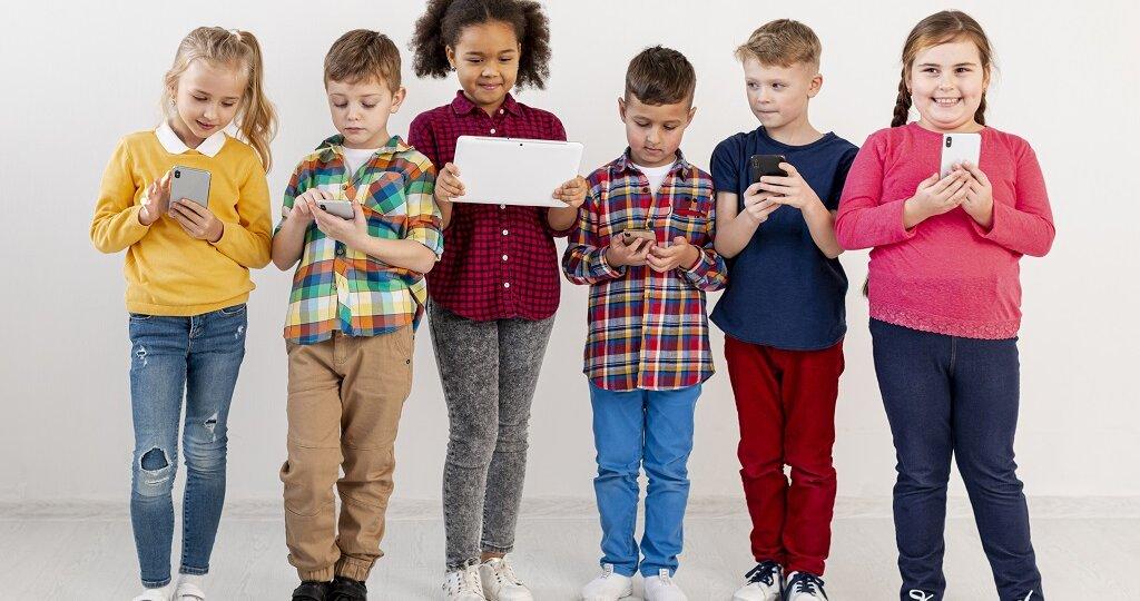 adicción a las redes sociales en los niños